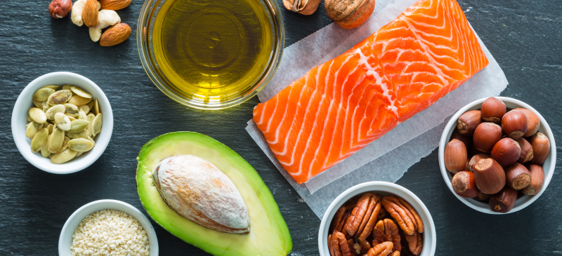 Omega 3 full fats good foods for anti-Cellulite