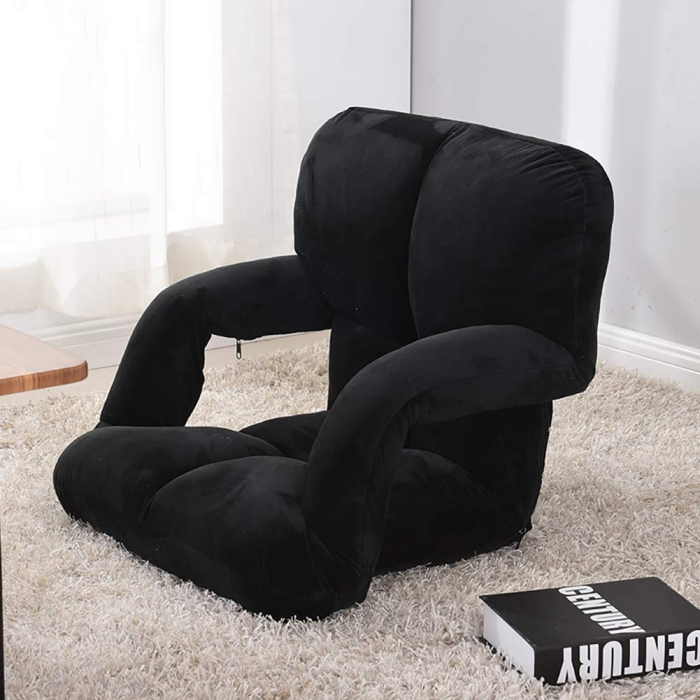 Reading chair with armrests