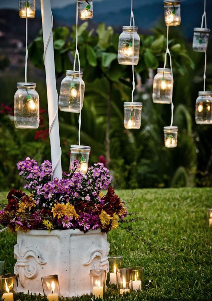 Lights in jars