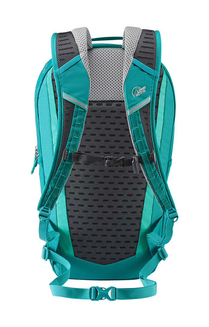 Women backpack with straps and back support
