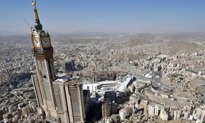 the Makkah Royal Clock Tower