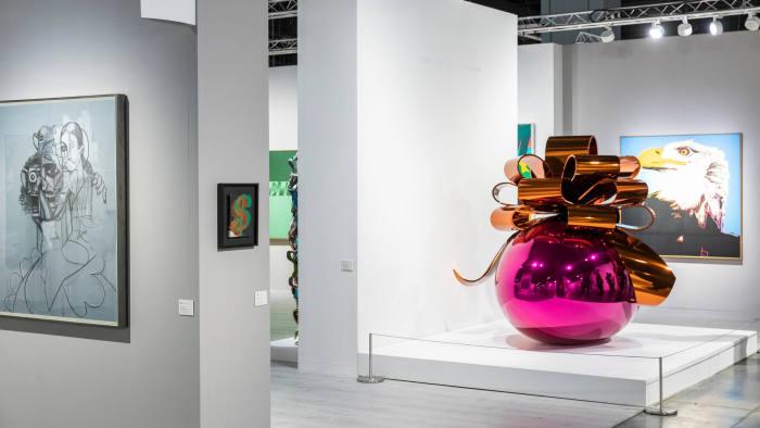 modern art exhibition