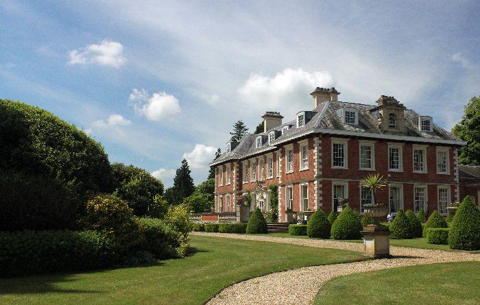 english mansion with garden