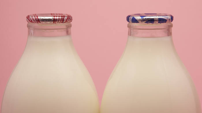 reduce waste milk in glass bottles