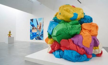 modern art space