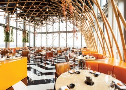 Best view rooftop restaurants in London Sushisamba