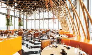 Best view rooftop restaurants in London Sushisamba