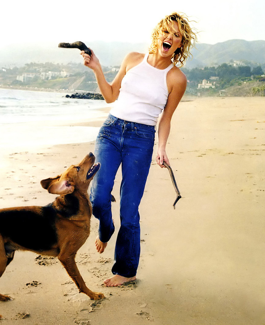 Charlize Theron love for dogs