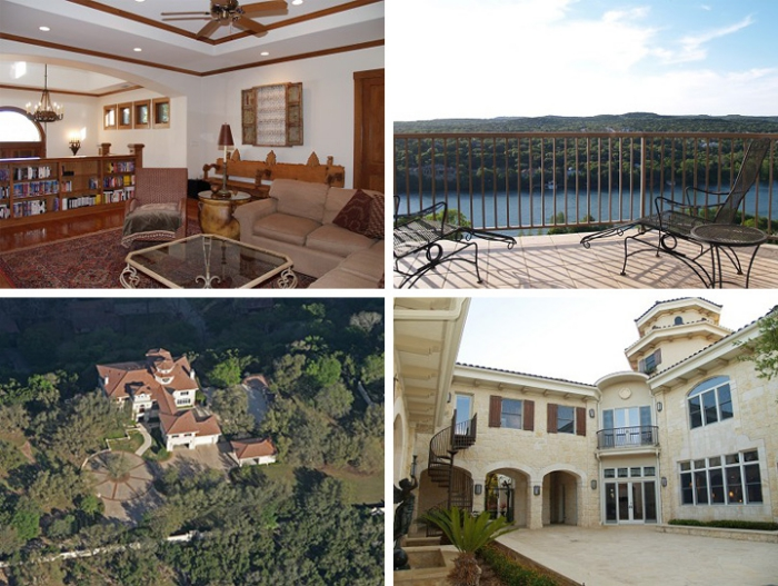 McConaughey Spanish-Mediterranean style mansion on the lake Texas