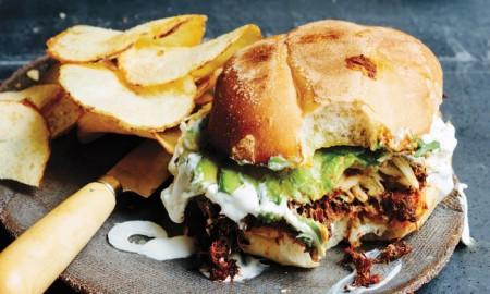 Mexican sandwitch loncha