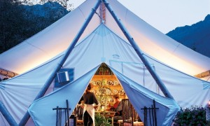 Rastaurant in Clayoquot Wilderness Resort in Vancouver island