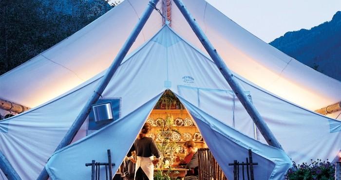 Rastaurant in Clayoquot Wilderness Resort in Vancouver island