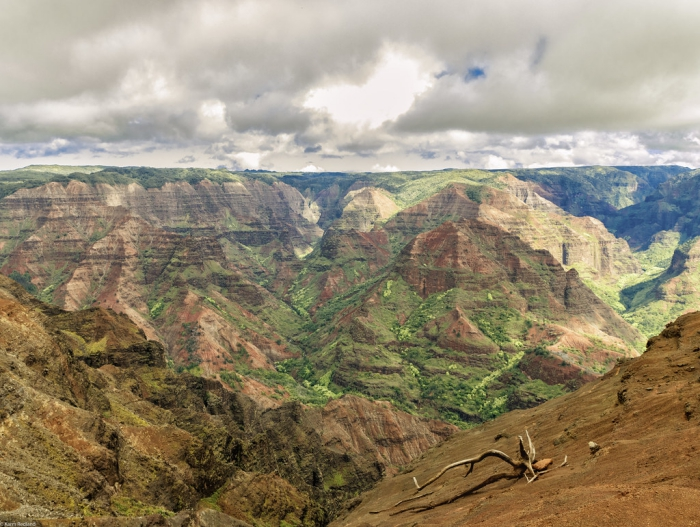 Majestic Waimea Canyon in Hawaii