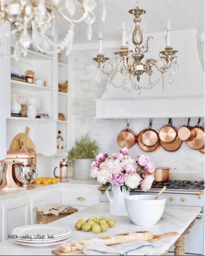 Beautiful Kitchen chandelier ideas
