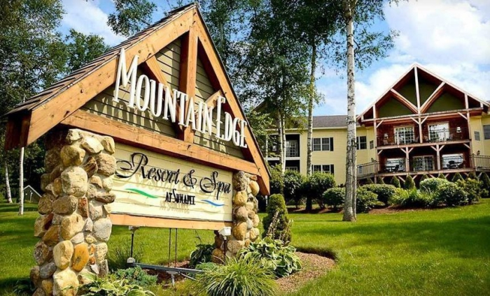 Best spa Mountain Edge Resort outdoor view garden hotel sign