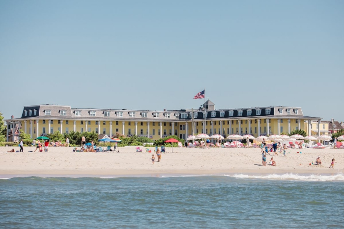 Congress Hall hotel New Jersey seaside beach view