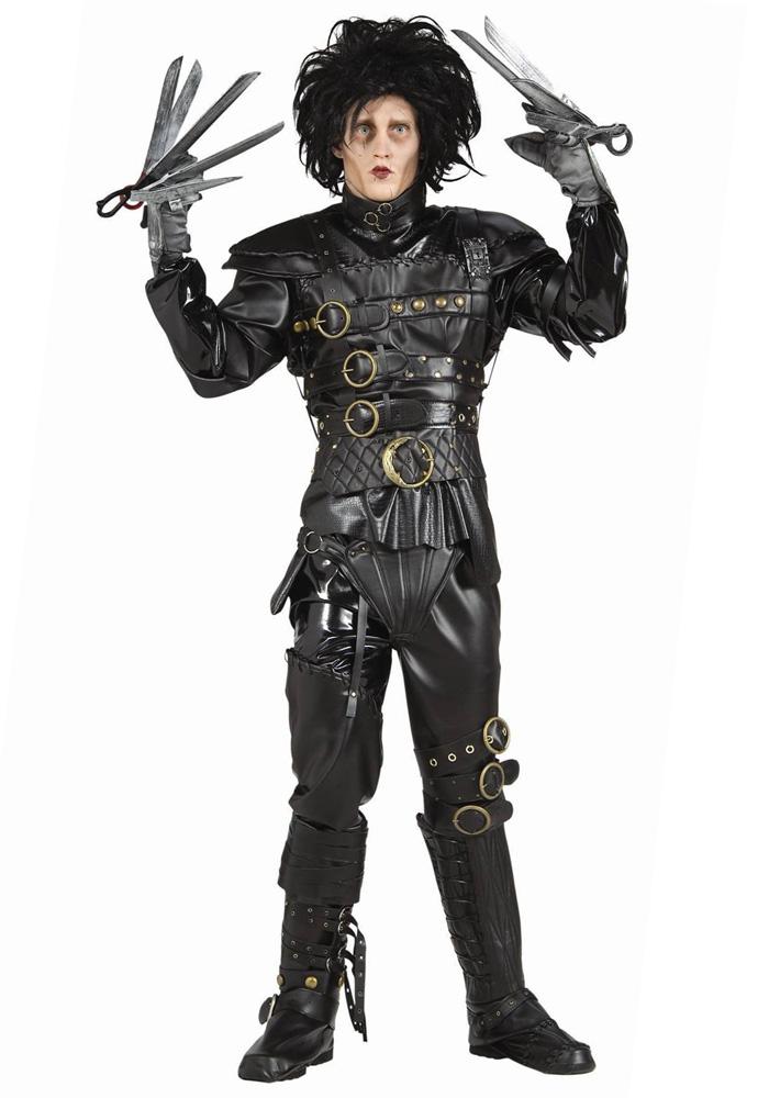 Edward Scissorhands Johnny Depp movie character Halloween costume