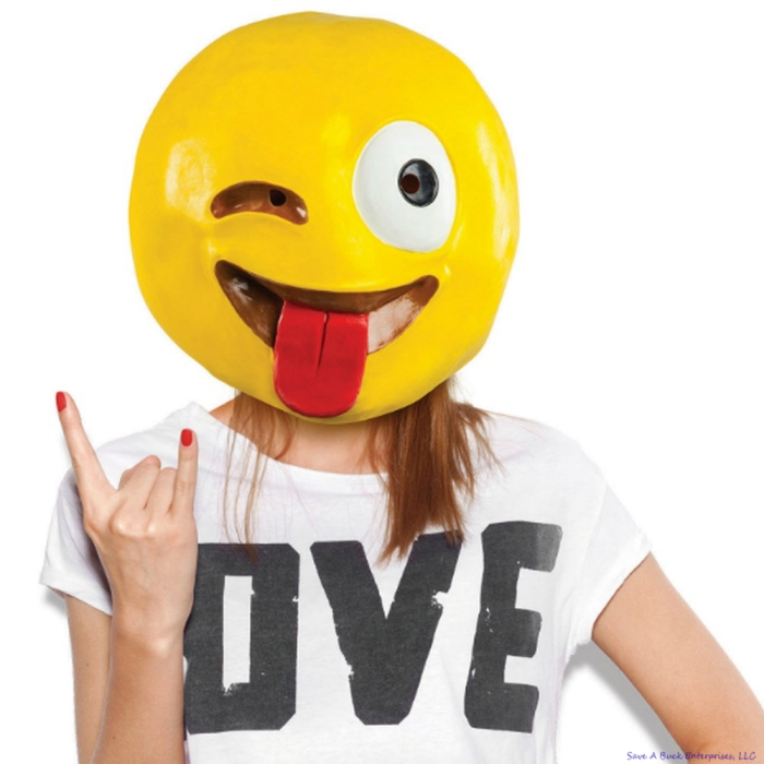 Emoticon Halloween costume ideas woman on white background smiley face
