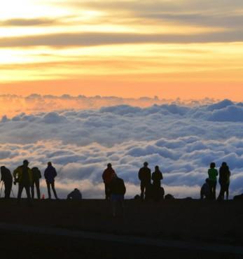 Haleakala Crater sunrise photo ideas