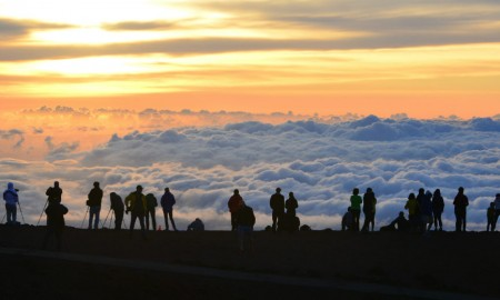 Haleakala Crater sunrise photo ideas
