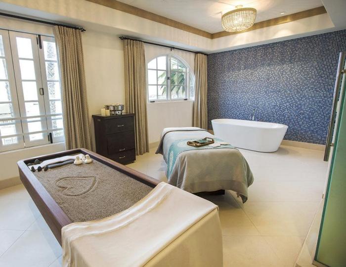Island Spa Catalina elegant clean stylish spa area interior