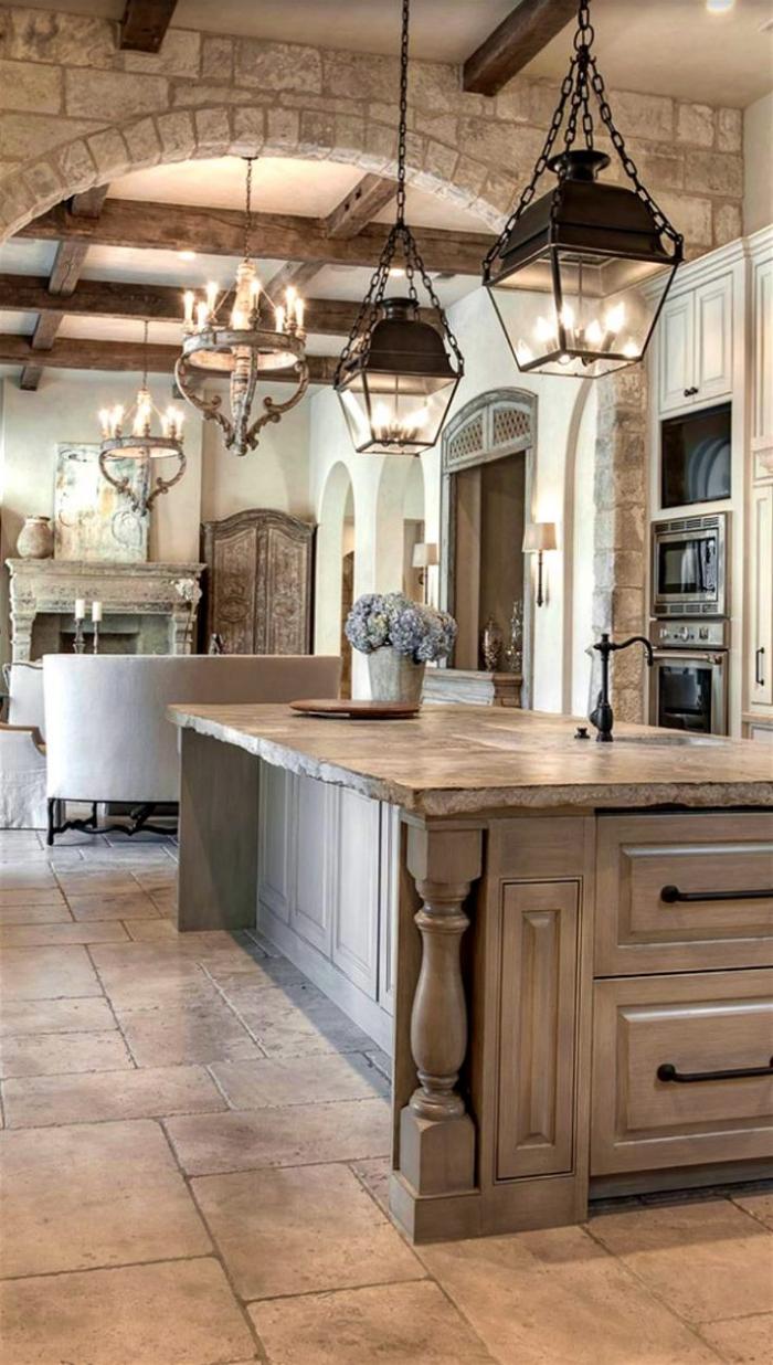 classic pendant lights lanterns chandelier classy kitchen interior