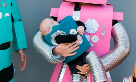 Robots halloween costume ideas for babies