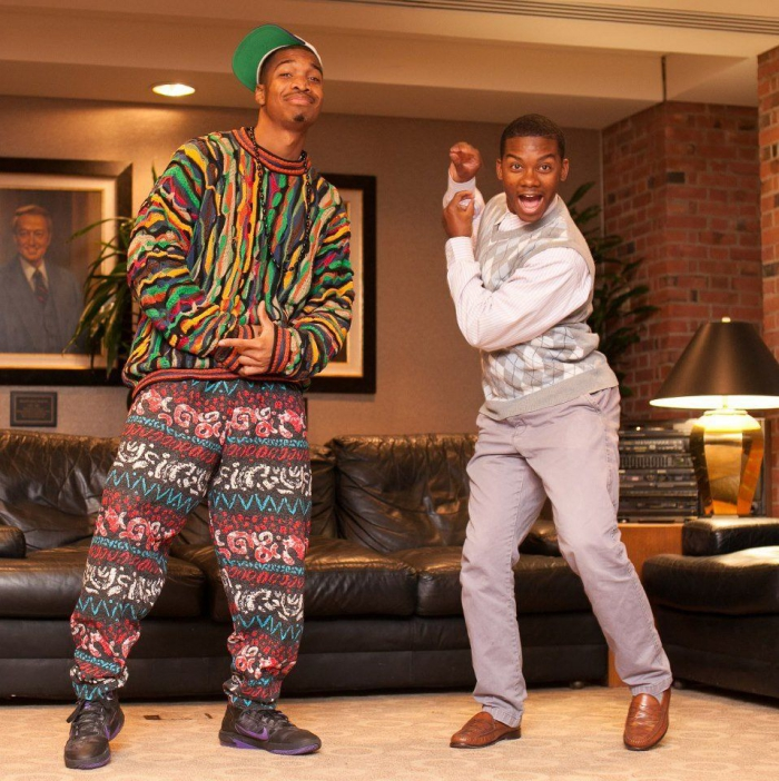 The Fresh Prince and Carlton Halloween costume ideas for friends