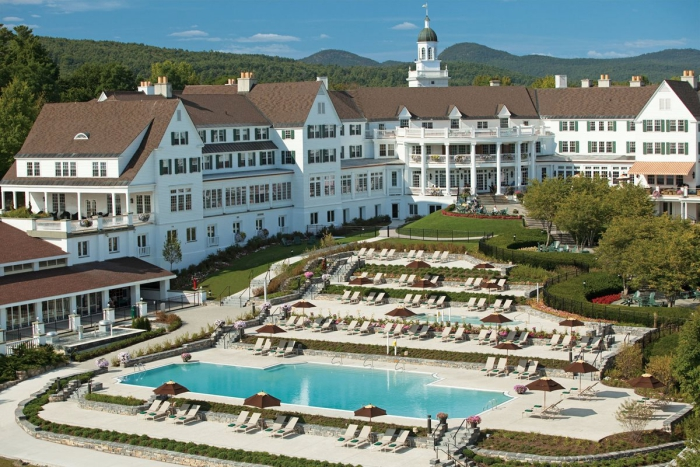 Sagamore Resort outdoor view with a pool