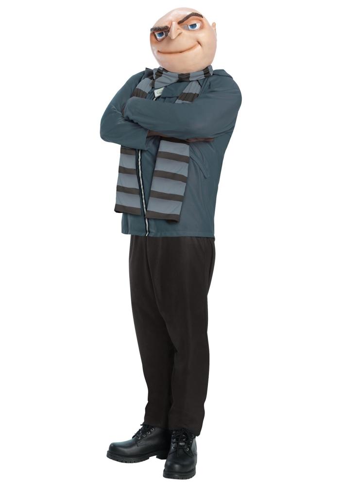 Gru Halloween costume easy cartoon character