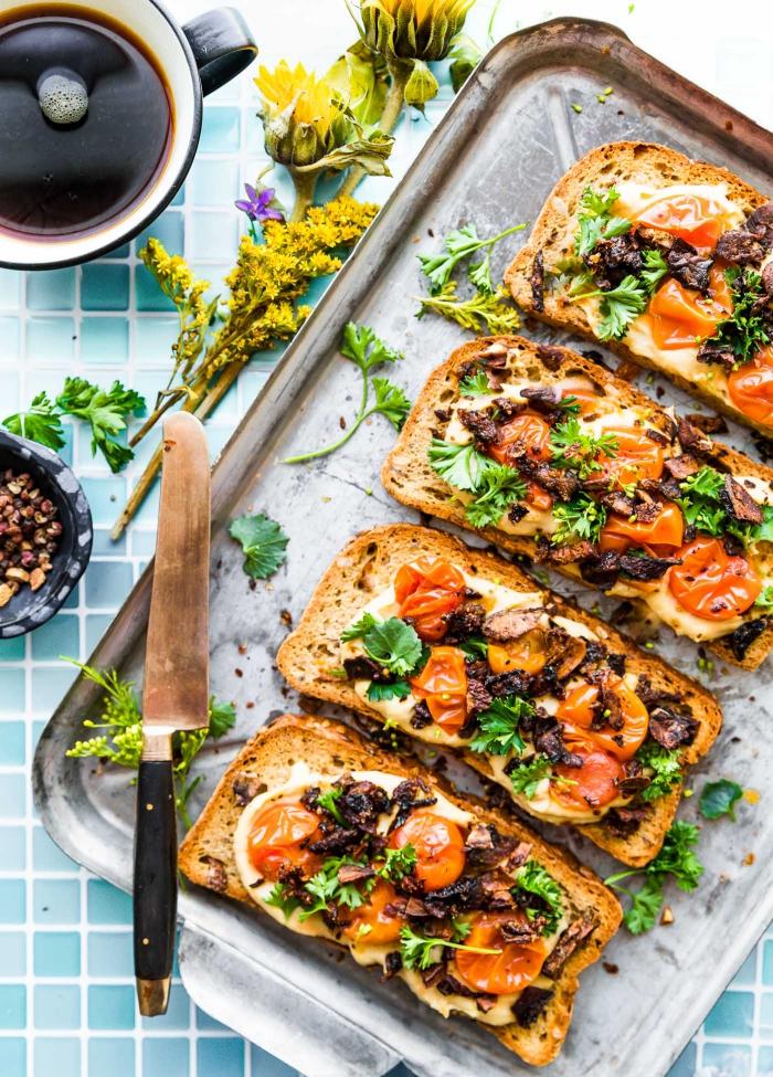 Easy and fast vegan breakfast ideas