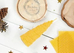 Beeswax Candles Eco friendly Chrismas gifts ideas