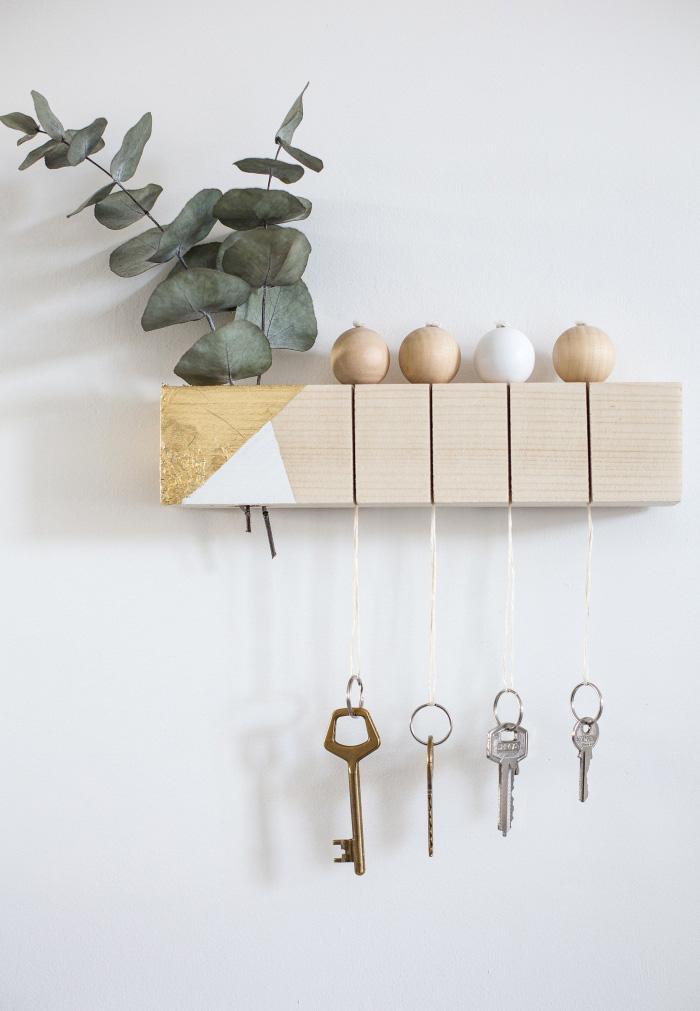 gift inspiration elegant modern unique key hanger