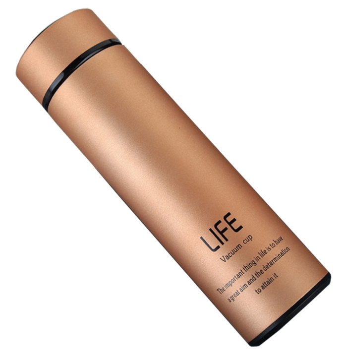 elegant metallic color thermo bottle for wine eco-friendly christmas gift ideas