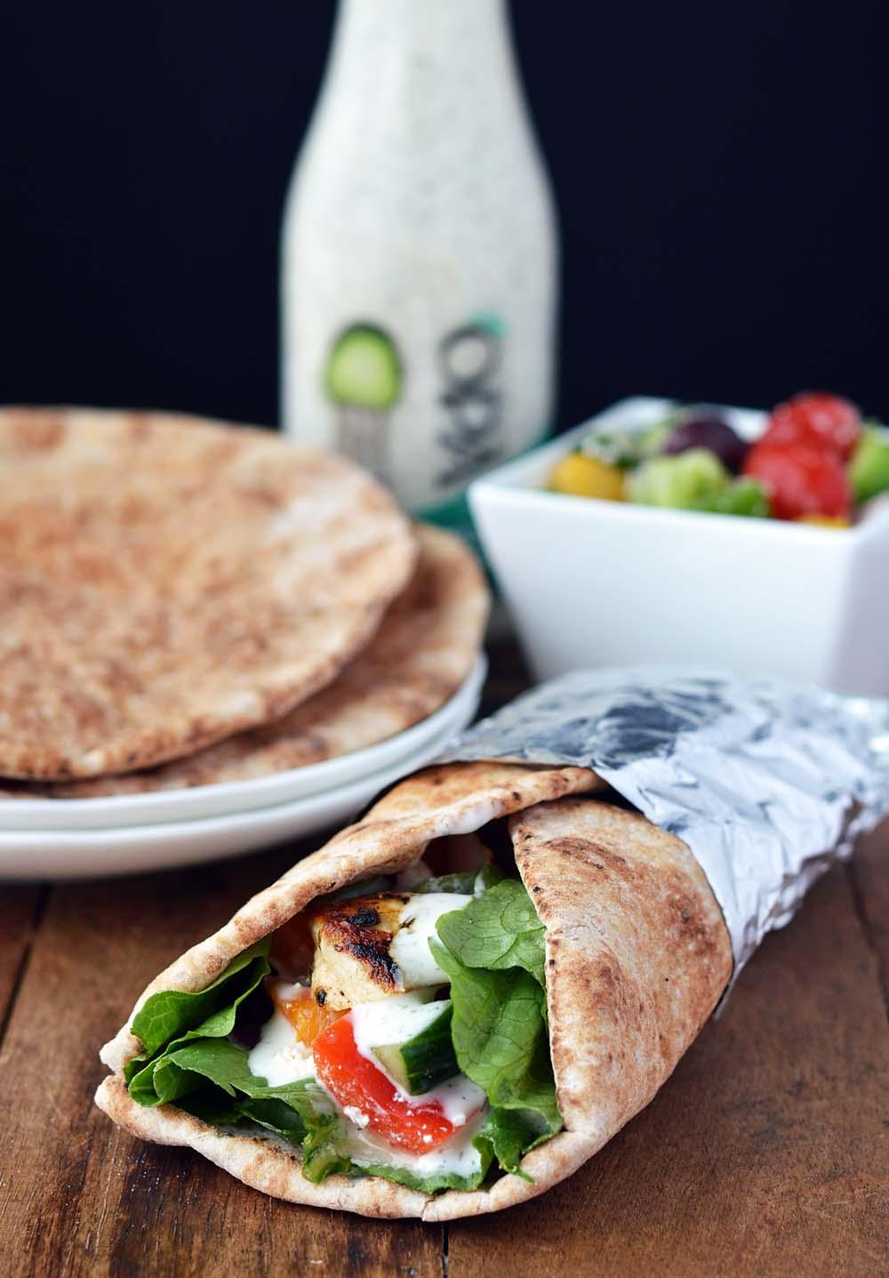 Turkey in a pita camping food ideas