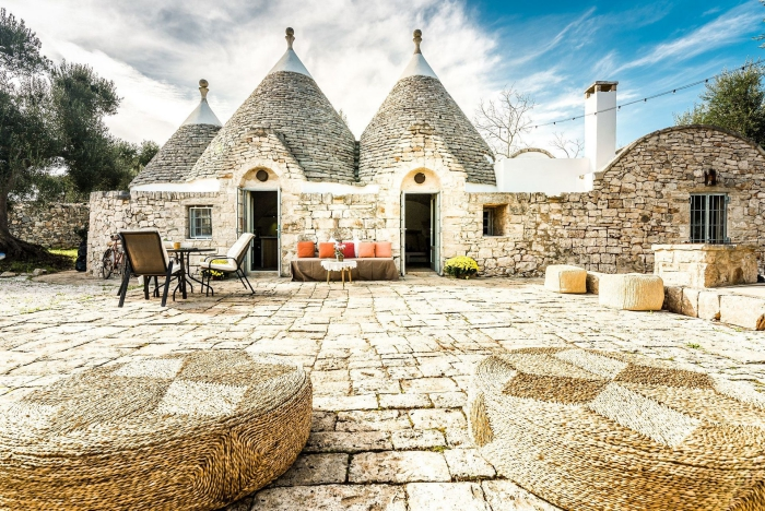 Vacation in TRULLO house