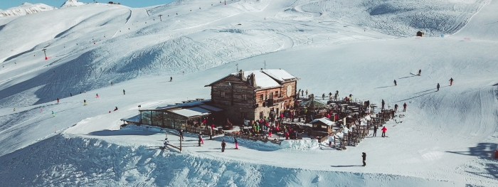 Livigno slopes skiing center winter sports