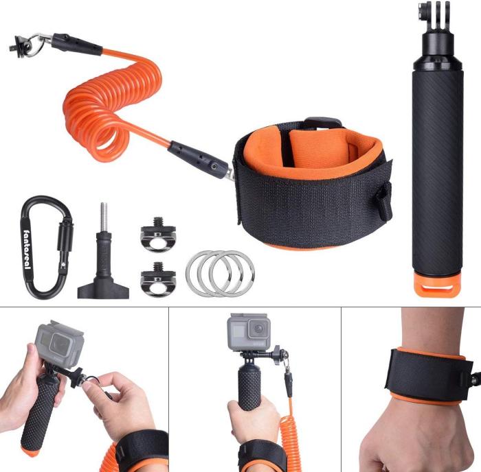 GoPro Safety Leash wrist strap handles camera accessories