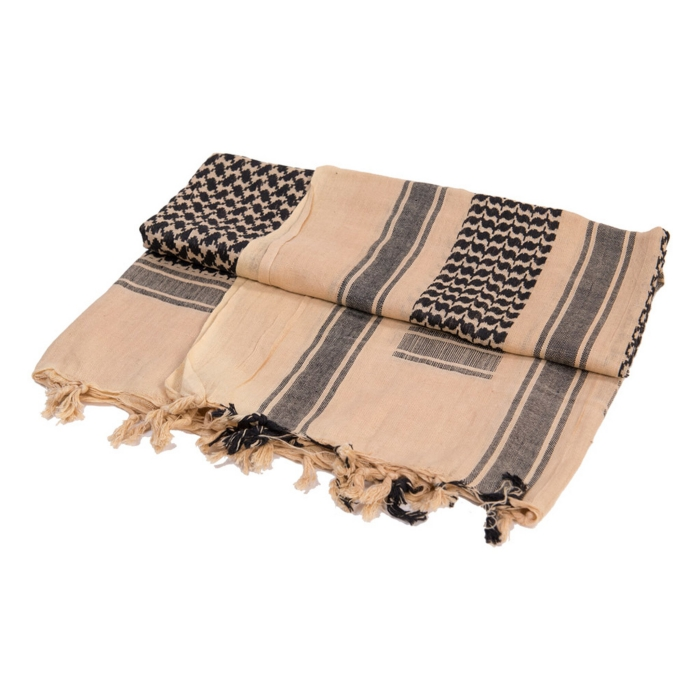 Shemagh for travellers ideas beige and black shemagh towel