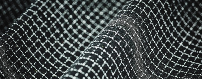 The hardest material in the world Dyneema close up chemical compounds network net