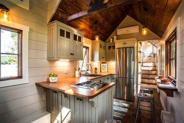 Tiny home custom design interior idea