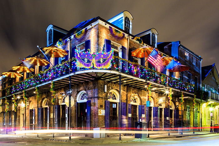 Best events in America Essence festival New Orleans decorated building exterior
