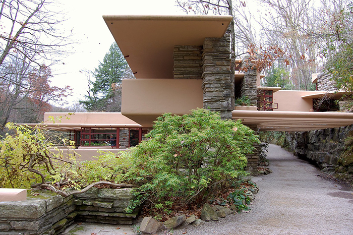 Fallingwater house mid century design and architecture
