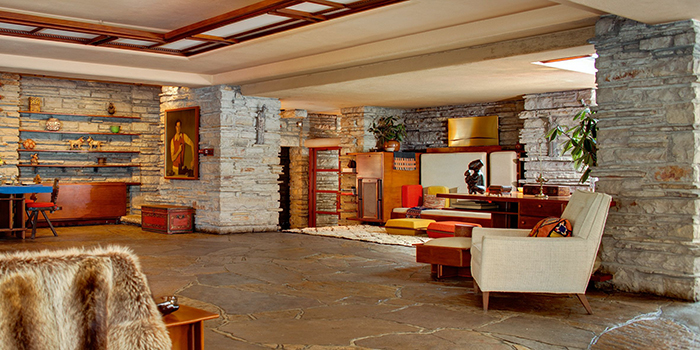 Fallingwater USA modern interior design ideas