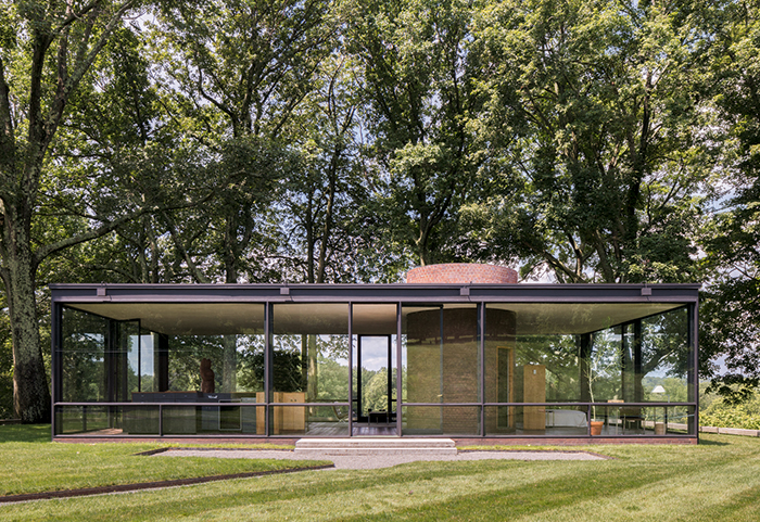 Glass House Exterior Modern Mid Century Home