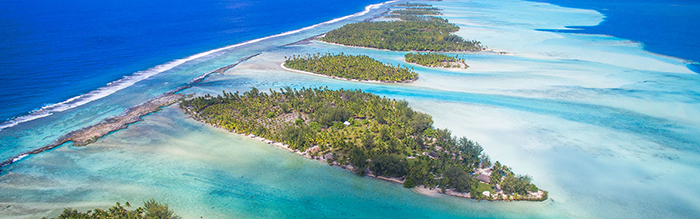 islands for sale in French Polynesia white sand ocean