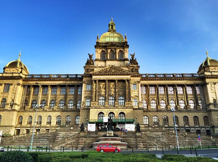 Prague National Museum building Prague architecture