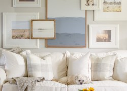 Photo Wall Ideas Neutral Look