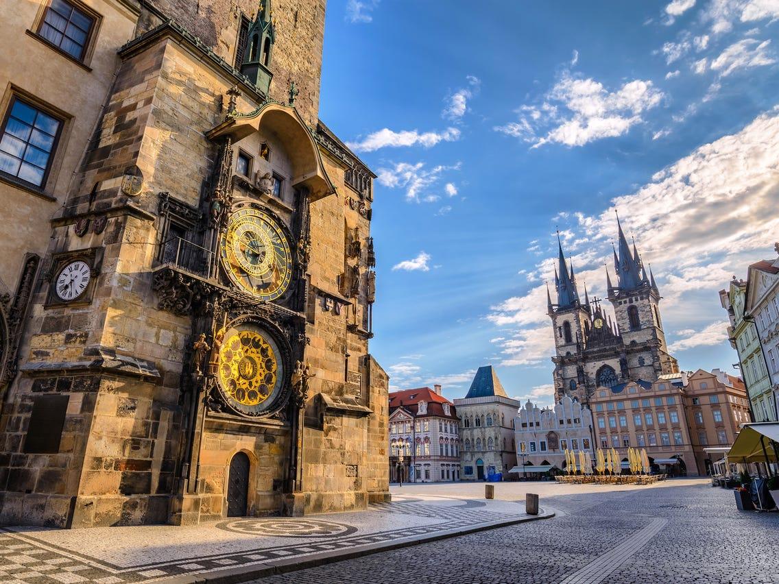 Prague amazing architecture