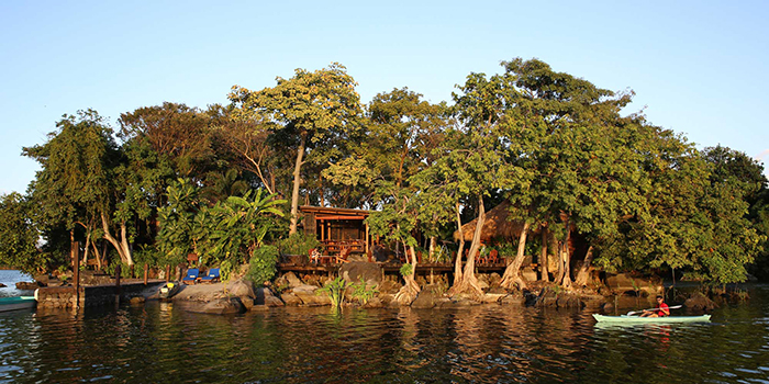 Private island in Nicaragua green island for sale